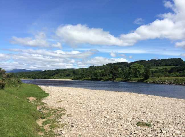 The Perfect Fishing River Scenery Of Scotland